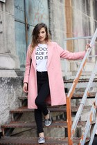 bubble gum OASAP coat
