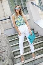 off white Zara pants