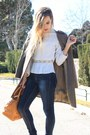 Off-white-zara-blouse-brown-zara-coat-camel-purificación-garcía-bag