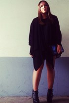 Urban Outfitters shoes - Zara dress - vintage bag - COS cardigan
