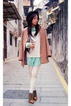 American Apparel shirt - Zara boots - H&M blazer