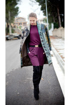 Etro coat - Azzedine Alaia boots - By Malene Birger pants