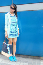 H&M dress - Riol Loco blazer - Charles & Keith bag - asos sunglasses