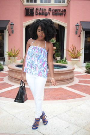 silk Lilly Pulitzer top