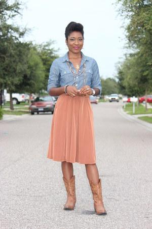 midi Forever21 skirt