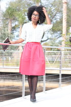 Midi Skirt+Blouse