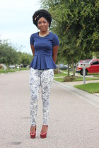 french toille H&M jeans