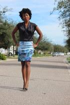 H&M skirt - H&M shirt