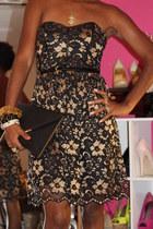lace asos dress