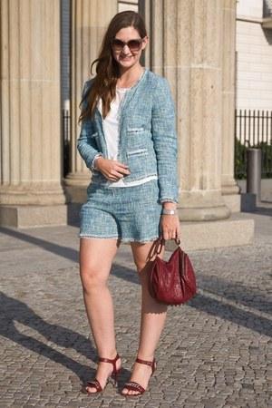 Celine shoes - Alexander Wang bag - Hallhuber suit