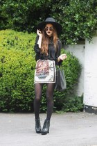 baroque print banggoodcom skirt - zippers chicwishcom bag