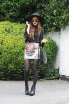 baroque print banggoodcom skirt - zippers chicwishcom bag