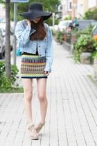 aztec printed bqueenshoescom skirt