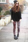 Knitted-the-editors-market-sweater-paisley-print-sheinside-leggings