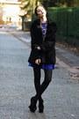 Concave-heel-shelikescom-shoes-blue-sheinsidecom-dress