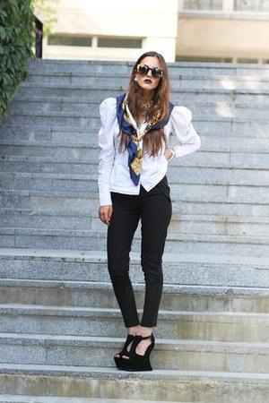 knuckle GALISFLYCOM ring - SheLikes shoes - baroque gold chicwishcom sunglasses