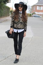 baroque print chicwishcom sweater