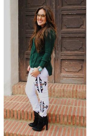 Zara boots - MINUSEY jeans - Zara sweater