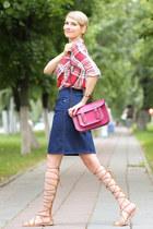 Zara shirt - Zara sandals