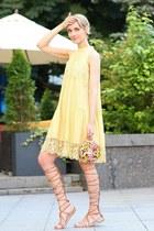 Dolce & Gabbana bag - H&M dress - Zara sandals