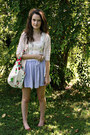 White-diy-bag-brown-leather-lands-end-flats-white-braided-american-apparel-b