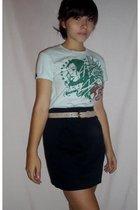 shirt - skirt - belt