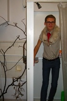 Helmut Lang shirt - Cheap Monday jeans