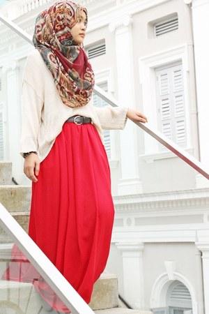 thepoplook skirt - cotton on jumper