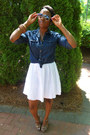 Eyelet-dress-old-navy-dress-chambray-shirt-american-eagle-shirt