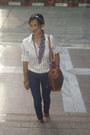 Sm-ring-kamiseta-jeans-celine-vintage-bag-zara-button-down-top