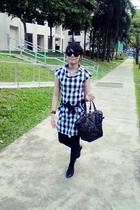 from Bugis Street dress - Topshop shoes - Little Match Girl purse - Vogue  Lot 1