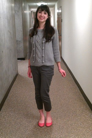 wool Old Navy sweater - cotton H&M pants - Urban Outfitters flats