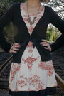 Black-h-m-cardigan-black-self-made-skirt-beige-self-made-dress-black-steve
