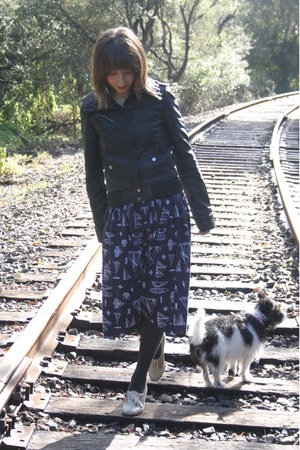 black 20 Pretty Mama jacket - navy 4 self-made skirt - eggshell Rachel Comey hee