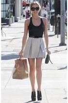 skirt - belt - heels