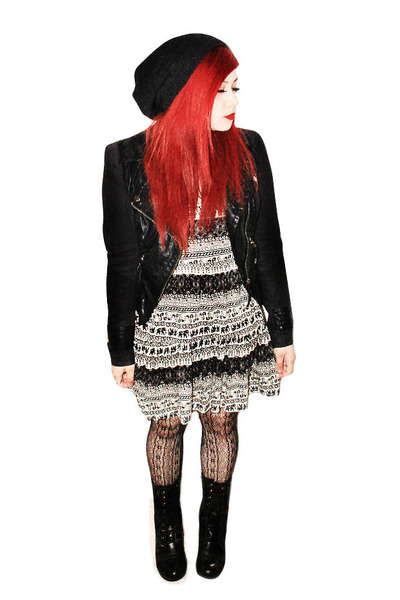 combat boots Urban Planet boots - aztec Urban Planet dress