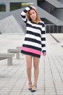 Black-asos-shoes-white-striped-persunmall-dress-gold-love-choies-necklace