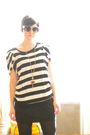 Black-michael-kors-shirt-forever-21-dress-necklace