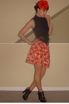 Forever21 skirt - Forever21 blouse - Alice  Olivia shoes - H&M accessories - For