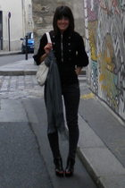 Cirque 21 jacket - Forever21 jeans - NYC street vendor scarf - Alice  Olivia sho