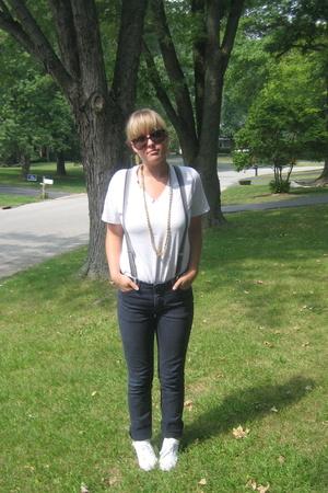 American Apparel pants - H&M shoes - Hanes shirt