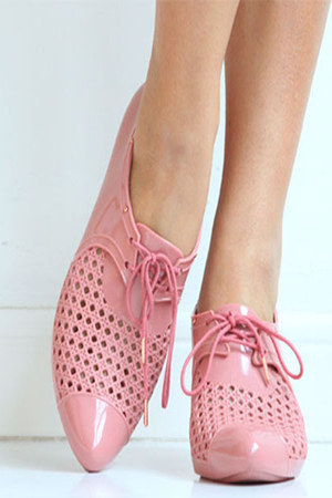 plastic oxford Melissa shoes