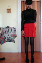 Forever21 dress - American Apparel skirt - Aldo shoes