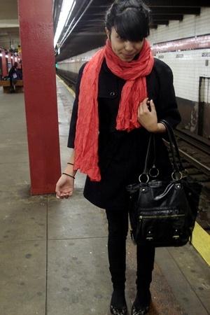 Aldo - Bullhead jeans - Gap coat - Aldo purse - H&M scarf