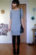 Express dress - coach purse - Nine West shoes