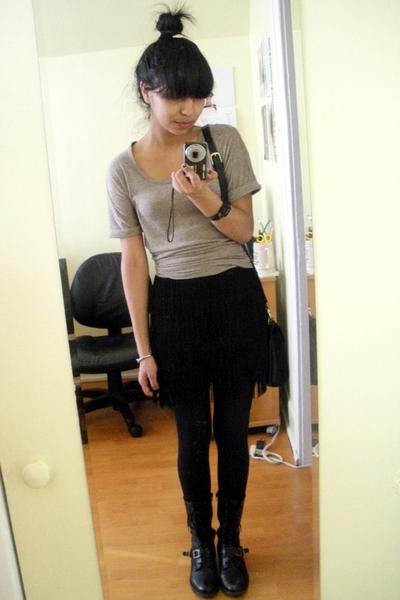 Gap dress - Urban Outfitters skirt - coach purse