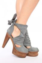 gray Jeffrey Campbell shoes