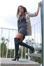 Boots-coat-dress
