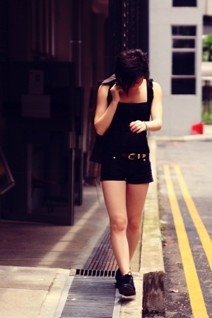 Urban&Co top - H&M shorts - Iora blazer - Keds shoes - Dolce Donna belt