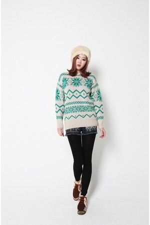 ivory Filthy Magic sweater